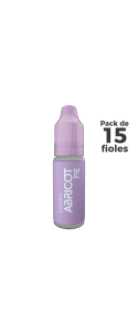 Pack E-Liquide Abricot pie x 15