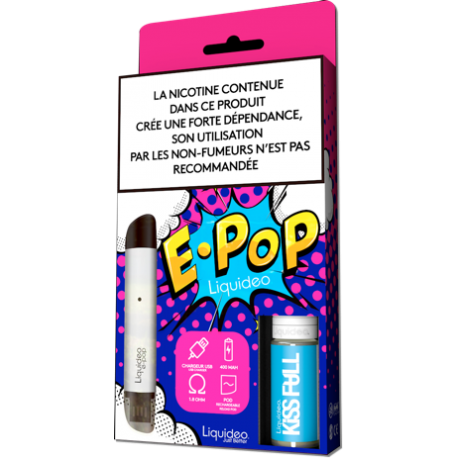 E-cigarette Liquideo E-PoP