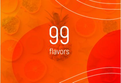 99 Flavor E-liquids