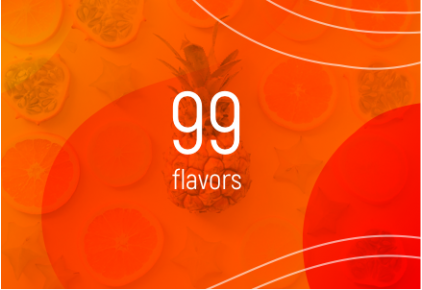 E-liquides 99 Flavor